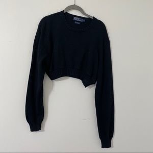 Cropped Polo Ralph Lauren sweater